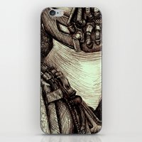 bane iPhone & iPod Skins featuring Bane by Christina Romano