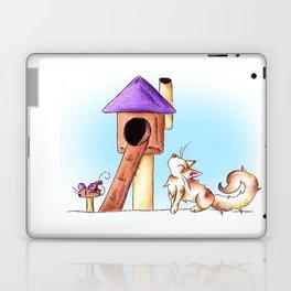Cat Condo Housewarming Laptop & iPad Skin