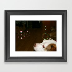 Bubble Siria Framed Art Print