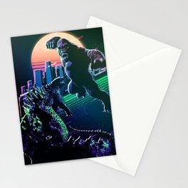 Godzilla and kong  Stationery Cards