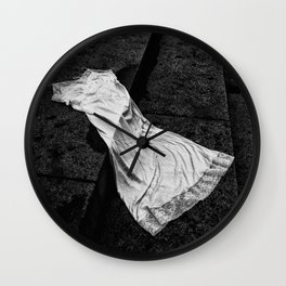 Silk And Stone Wall Clock