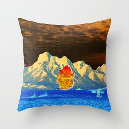 still desert Throw Pillow
