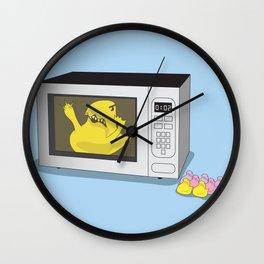 Where My Peeps At Wall Clock