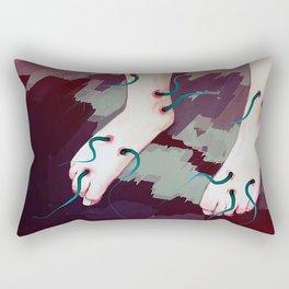 Dance me Rectangular Pillow