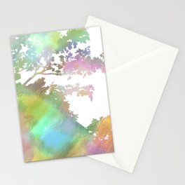 Up Over the Mountain Stationery Cards