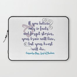 STORIES | CASSANDRA CLARE, LORD OF SHADOWS Laptop Sleeve