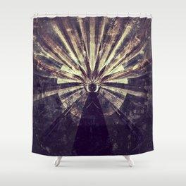 Geometric Art - SUN Shower Curtain