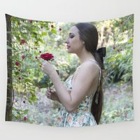 fairytale Wall Tapestries featuring Fairytale by JadeJessicaPhotography