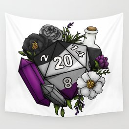 Pride Asexual D20 Tabletop RPG Gaming Dice Wall Tapestry