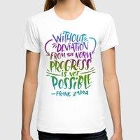 zappa T-shirts featuring Frank Zappa on Progress by Josh LaFayette