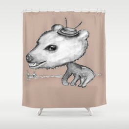 NORDIC ANIMAL  - BOBO THE BEAR / ORIGINAL DANISH DESIGN bykazandholly  Shower Curtain