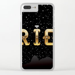 The Face of Rio - Silhouette Clear iPhone Case