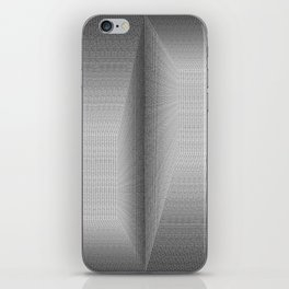 Binary Rooms iPhone Skin