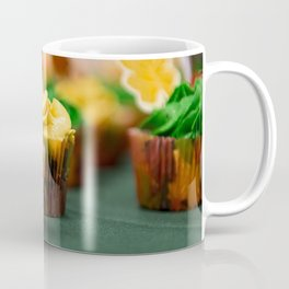 Frosted Leaf Cupcakes Photograph Coffee Mug