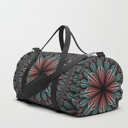 Fantasy flower and petals IV Duffle Bag