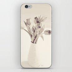 Tulips Toned iPhone & iPod Skin
