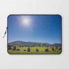Castlerigg Stone Circle in English Lake District Laptop Sleeve