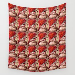 """Dollpocalypse: """"Fashionably-Late Lilith"""", the Fallen Starlet Wall Tapestry"""