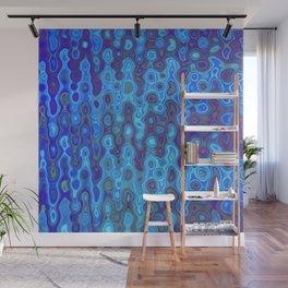 Mushroom Coral Blue - Coral Reef Series 032 Wall Mural