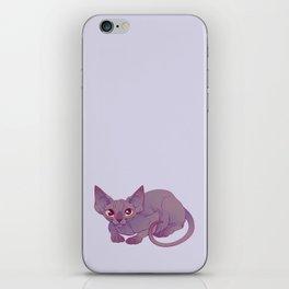 Happy Sphynx Cat iPhone Skin