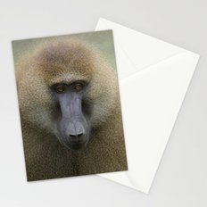 Guinea Baboon Stationery Cards