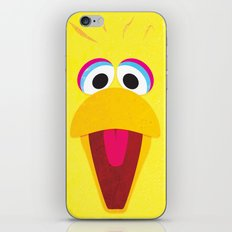 Minimal Bigbird iPhone & iPod Skin