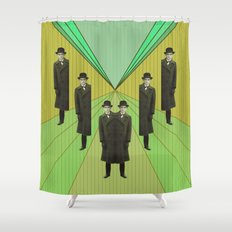 spies are everywhere Shower Curtain