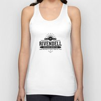 lotr Tank Tops featuring LOTR Archery Club by Snazzy Sisters