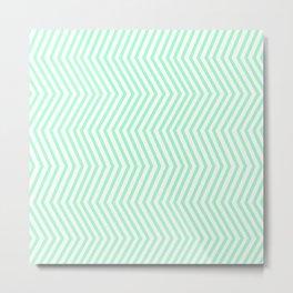 KAYA ((seafoam green)) Metal Print