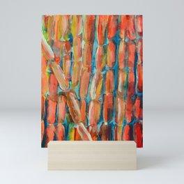 Coral Night of Sugarcane Mini Art Print