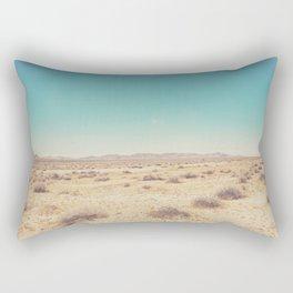 the Mojave Desert ... Rectangular Pillow