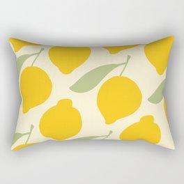 Lemons on Lemons Rectangular Pillow