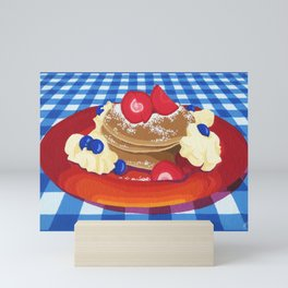 Pancakes Week 10 Mini Art Print