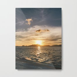 Philippines sunset Metal Print