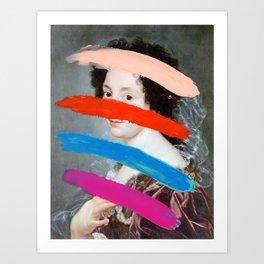 Composition 715 Art Print