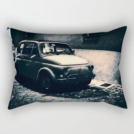 Vintage 500 in Italian Noir Rectangular Pillow