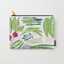 April Vegetables - Vegetable Series Carry-All Pouch