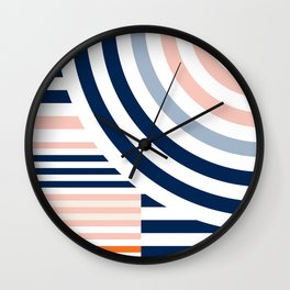 Connecting lines 3. Wall Clock