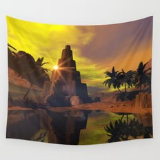 Little pyramid  Wall Tapestry