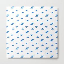 JADE ((true blue)) Metal Print