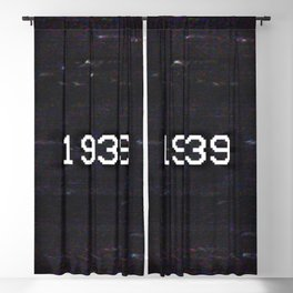 1939 Blackout Curtain