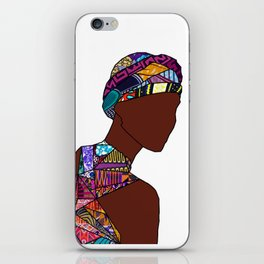 Women in Colors 05 - Calliope [no tag] iPhone Skin
