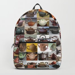 Yixing Teapot Montage Backpack