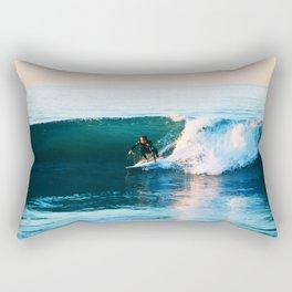 Warm Surf Rectangular Pillow