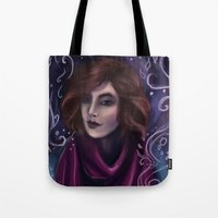 kate bishop Tote Bags featuring Kate by Kate Plourde