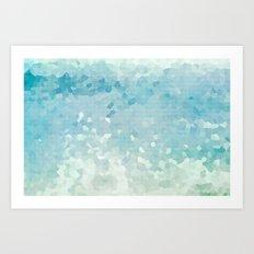 Ocean Palette Art Print