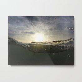 Drunken Pier Metal Print
