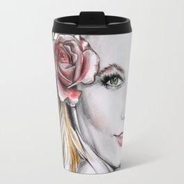 Floral Karlie Travel Mug