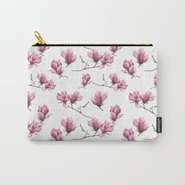 Watercolor magnolia Carry-All Pouch