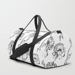 The Floral Scent of Peonies Duffle Bag